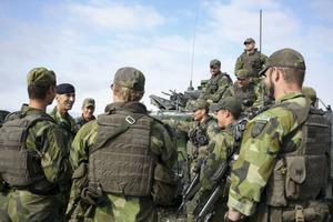 Information om ett ökat hot från Ryssland bidrog till att Sverige återigen har ett permanent försvar på Gotland. Arkivbild.