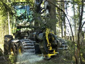 Det rör på sig inom skogsbruket igen. Varsel dras tillbaka och både säljare och köpare tycks finnas.