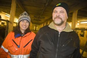 Lisa och Jan Thorén har drivit sitt jordbruk i 22 år.