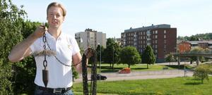 Joachim Björks företag tar över sotningen i Köping. Foto: Ulf Eneroth