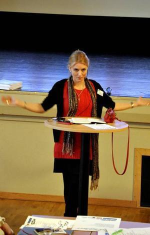 Operasångerskan Carina Henriksson är konstnärlig ledare för Tornedalsteatern och en av konferensens inspirationstalare.