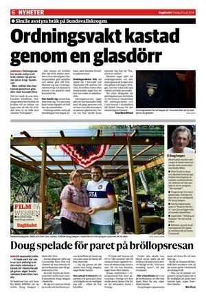 Dagbladet 29 juli.