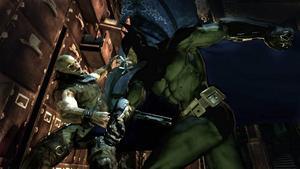 """ÅRETS ÖVERRASKNING. Rocksteady Studios överraskar stort med """"Batman Arkham Asylum"""", som är ett superhjältespel med stor bredd och är fullständigt nedlusat med härligt extramateraial för kalenderbitaren.Foto:"""