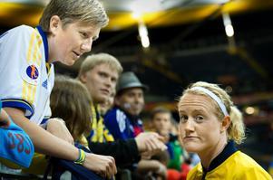 Marie Hammarström efter Sveriges förlust i VM-semin mot Japan på onsdagskvällen.