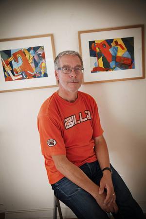 Anders Suneson har vernissage på sin utställning på Härke Konstcenter på lördag.