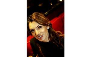 Alexandra Pascalidou är aktuell med reportageboken Kaos. Foto: Karin Grip / SvD / SCANPIX
