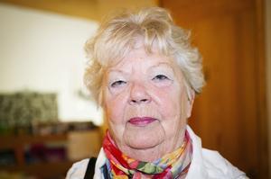 Irma Nordh, Kramfors:– Därför att jag är medlem, och det är viktigt att vara med på ett hörn.