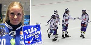 Tilda Ström är yngst i Villas elitserietrupp, men redan en av de mest omtalade spelarna i laget.