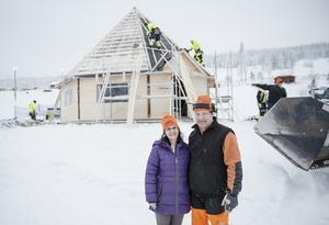 Anna-Carin och Mikael Danielsson äger och driver Solbergsbacken.