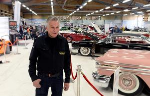 Tommy Edström, arrangör för Sundsvalls motorshow.