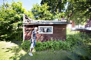 Skjulet på Länkarnas gård är fallfärdigt och farligt, blivit tillhåll för ungdomar.