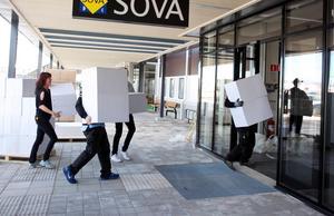 En bild tagen i slutet av mars 2014 då Sova slog upp dörrarna i Borlänge.