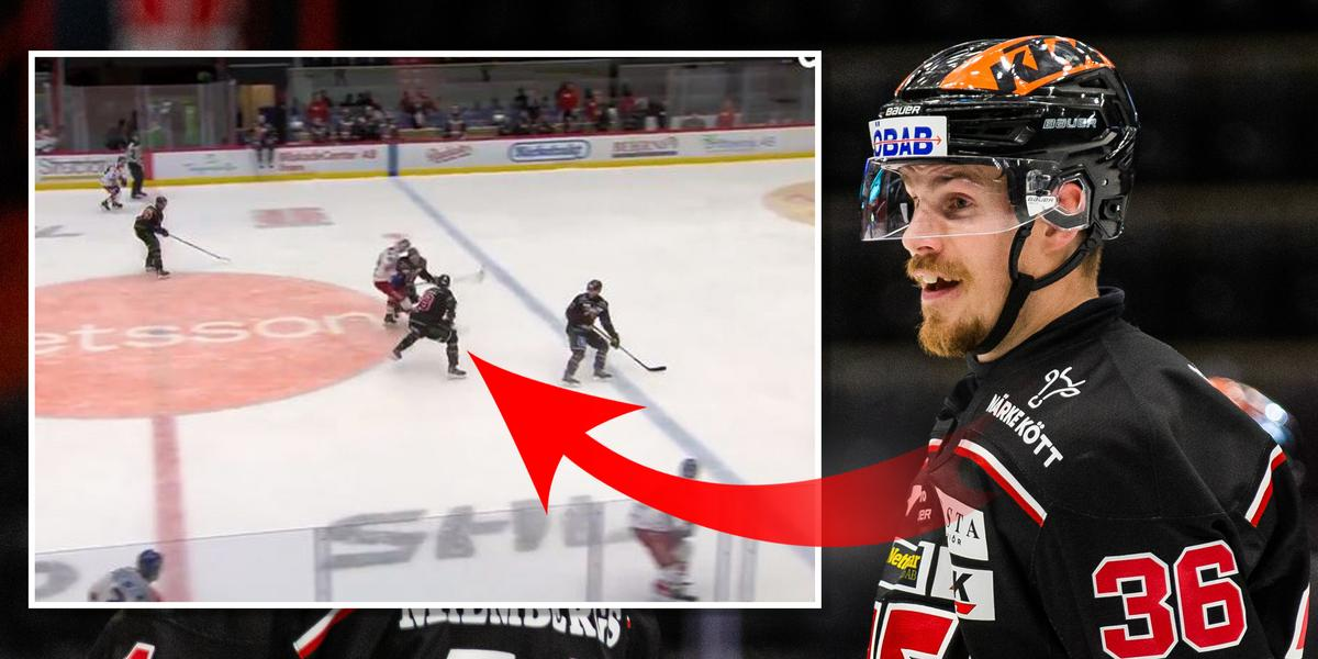 Örebro Hockey:      Efter tacklingen på Sundh – Larsson anmäld till disciplinnämnden