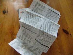 Varningslistorna i medicinförpackningarna är både på gott och ont, skriver Gunnar Fredriksson.