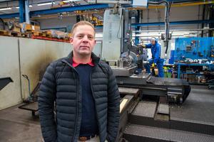 Patrik Roswall säger att Jernbro i Avesta kan erbjuda tjänster inom  el, mekanik och maskinverkstad.