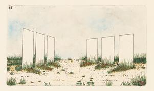 Mystiska platser och föremål dokumenterade av den fiktive botanikern J.M.G. Paléen.