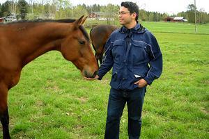 Hästar var ett av Daniels många intressen.