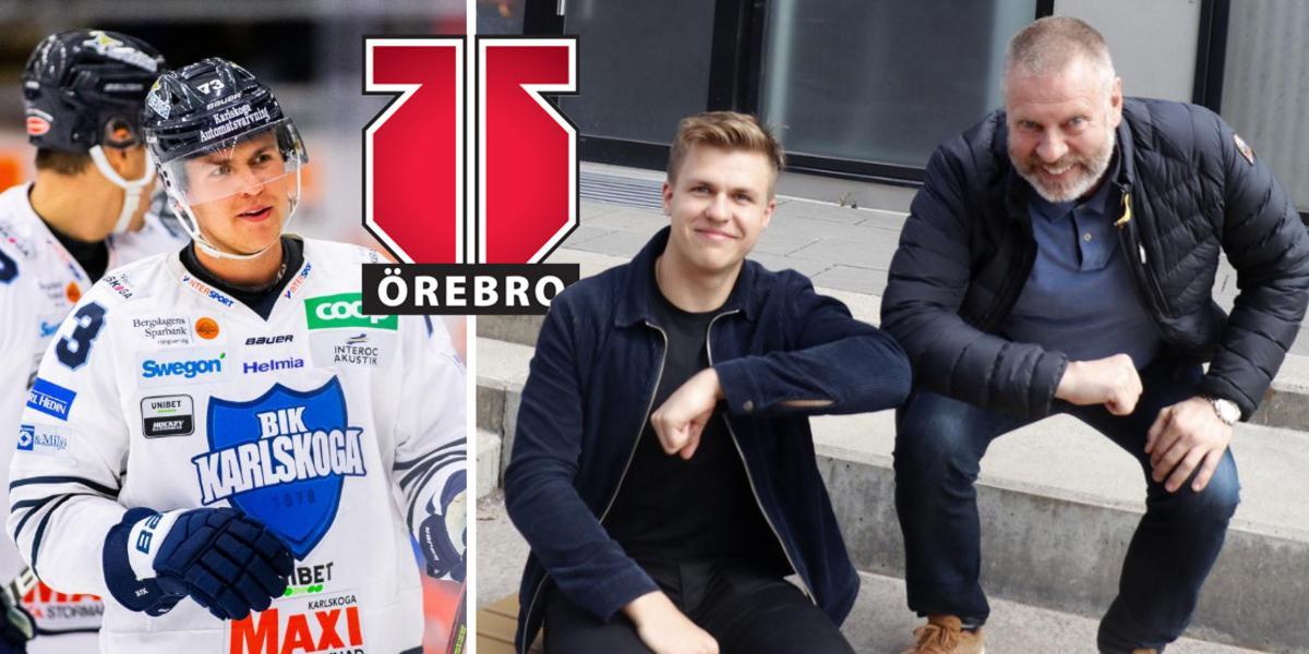 """Fick nobben av Örebro som junior – nu är Oliver Eklind tillbaka: """"Då tror jag inte att jag varit här nu"""""""