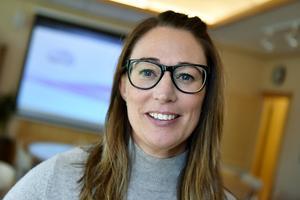 Lina Grahn, företagssköterska, ser fram emot att använda det nya verktyget.