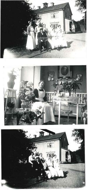 Bilder från fattighuset i Karlslund från 1910. Foto: Okänd/VLM