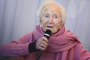 Förintelseöverlevaren Hédi Fried. Foto: TT