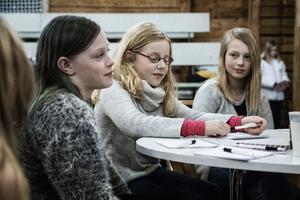 Lilja Parkow, Eia Sandberg Rudolfi och Majken Hertzberg lät kreativiteten flöda.