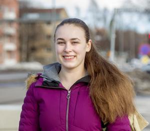 Frida Larsson, 16 år, studerande, Timrå: