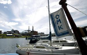 Ortvikens motorbåtsklubb. Ingen skugga må falla över klubben utan problemet beror på Sundsvalls kommun, hävdar skribenten. Bild: Håkan Humla