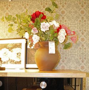 Torkade blommor visades upp som en trend på Formex desigmässa i höstas. Ikea är ett av företagen som tagit den trenden.