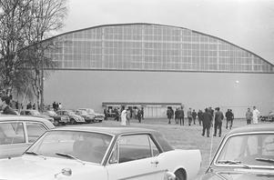 Smidjegrav 1967 med sitt nya tak. Foto: Krister Larsson