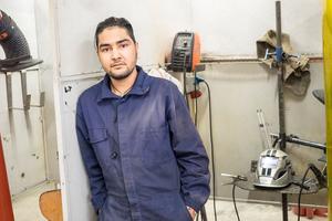 Ali Reza hoppas på en framtid med jobb efter studierna.