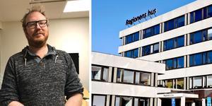 Sjukvårdspartiet menar i sin insändare att det går att spara mer på administrationen inom Region Västernorrland. Foto: Klas Leffler och Ove Öst.
