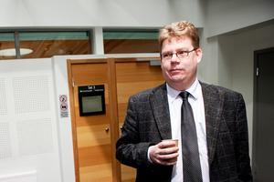 Erik Hansson är advokat till en av de inblandade. Bild: Johan Engman