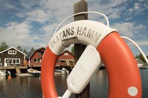 Båtar ligger Göran Westin varmt om hjärtat och hans egen, en Gullholmensnipa, ligger väl förankrad vid huset i Skatans hamn.
