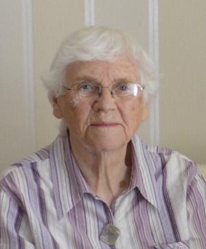Astrid Fransson blev 94 år gammal.