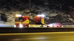 Trafikolycka vid Moraberg