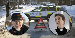 Fotomontage: Mikael Hellsten. Kvarnsvedsbor efter dödsskjutningen: