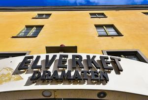 Full fart på Dramatens scen Elverket när andra delar renoveras. Lars Pehrson / SvD / TT