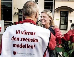 Taken i socialförsäkringarna skapar ekonomisk otrygghet för många yrkesgrupper. Inkomstbortfallsprincipen är borta.  Foto: Lars Pehrson/TT