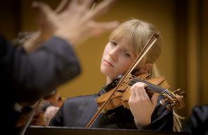 Ylva Larsdotter är en av solisterna i fredagens konsert. Arkivfoto: Lennart Hyse.