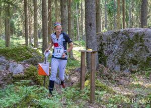Den tidigare landslagslöparen Maria Magnusson rasar i Allehanda mot sponsoravtalet. Foto: Lars Rönnols