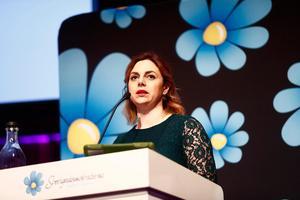 Paula Bieler (SD).  Foto: Stefan Jerrevång/TT