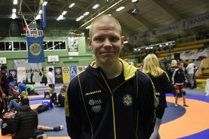 SAIK-tränaren Erik Hoffman var väldigt nöjd med hela mästerskapet.