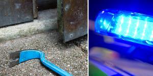 Den som drabbats av inbrott bör anmäla det inträffade till polisen så snabbt som möjligt.