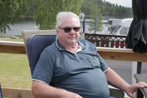Kjell Almgren från Hedemora med familj blev vittnen till den dramatiska händelsen.