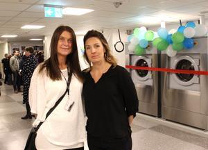 Asbesten är borta och lokalerna totalrenoverade. Carina Svensson, projektledare, och Madelene Lindh, tjänsteägare, ser ljust på framtiden för sjukhusets tvätt- och städcentral.