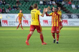 Sebastian Rajalakso gjort Syrianskas 2–2-mål.