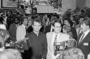 Bill Murray och Dan Akroyd vid premiären av