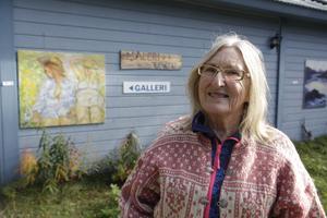 Gunilla Ellis är initiativtagare till konsthelgerna i Funäsdalen.
