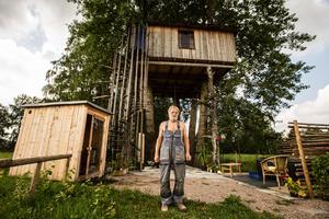 Lars-Erik Bergström har byggt ett